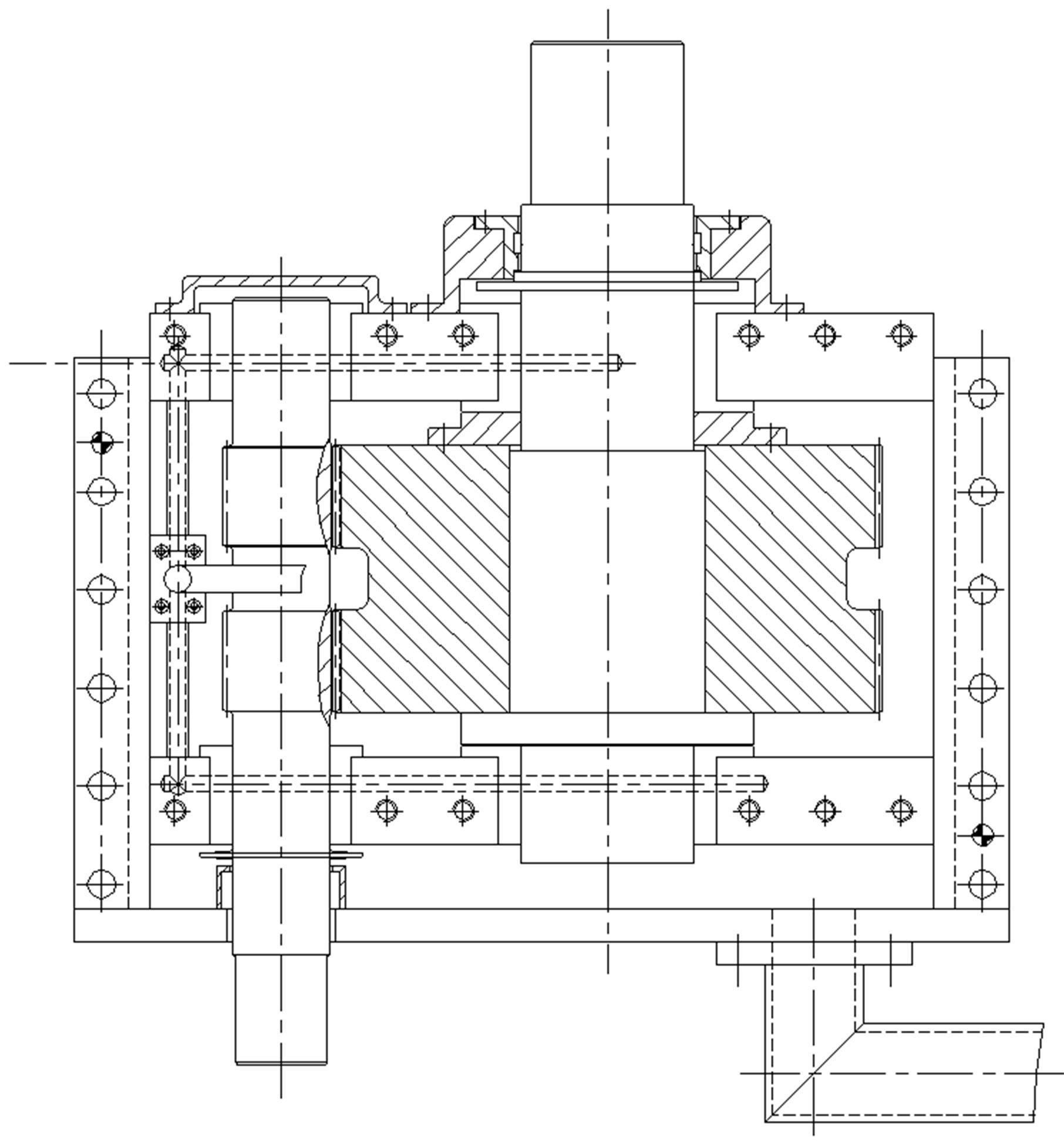 Gearbox Scheme In High Temperature Reactor Helium Gas