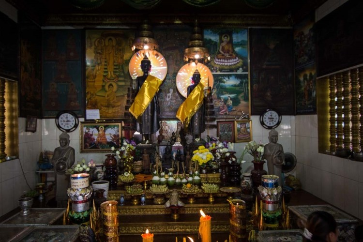 姊妹庙(Preah Ang Chek Preah Ang Chom)