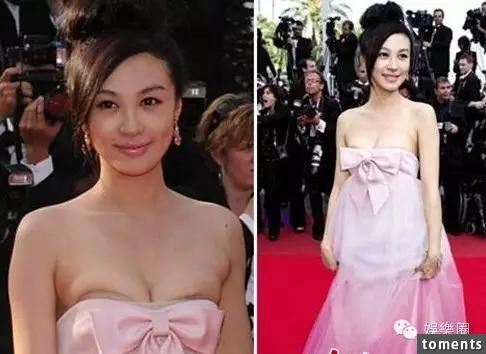 這些女明星在紅毯上「大走光」竟渾然不知