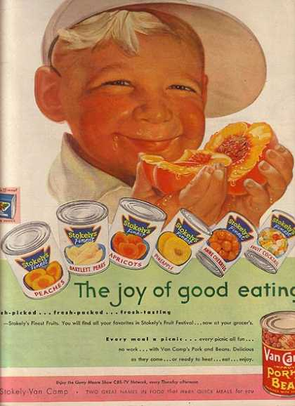 Stokely – Van Camp's Variety of Canned and Frozen Foods (1953)