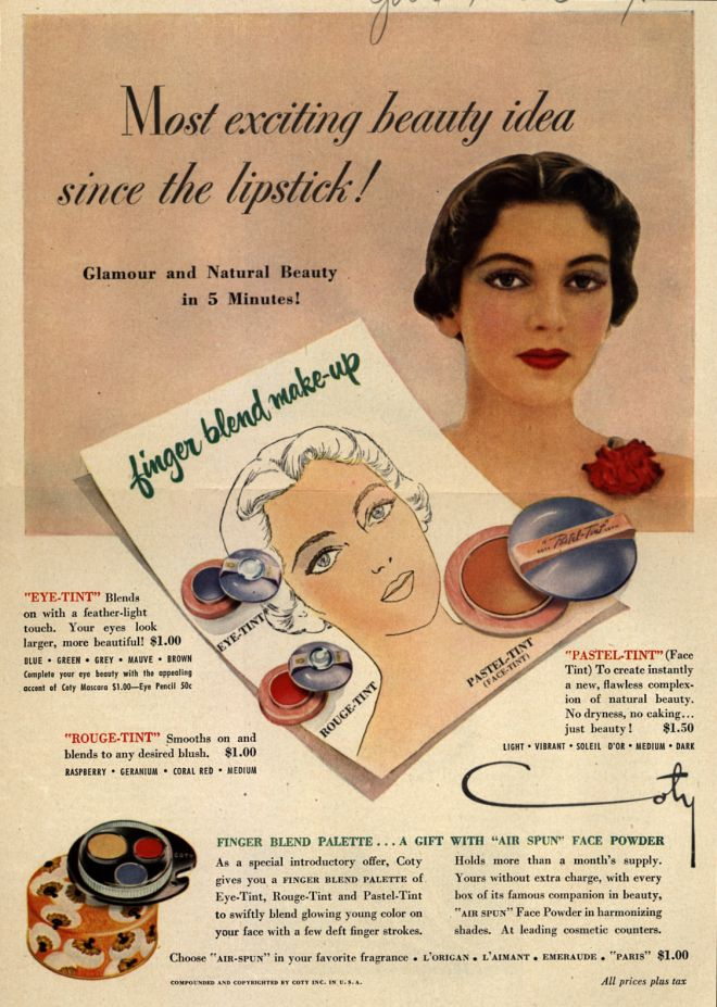 Fresh Beauty Face Cream Ad