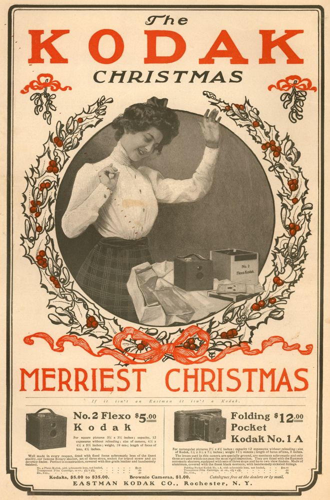 Vintage Xmas Advertisements Of The 1900s