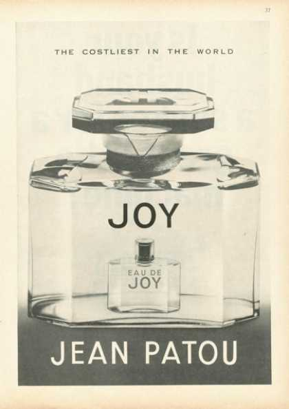 Jean Patou Eau De Joy Perfume Bottle (1961)
