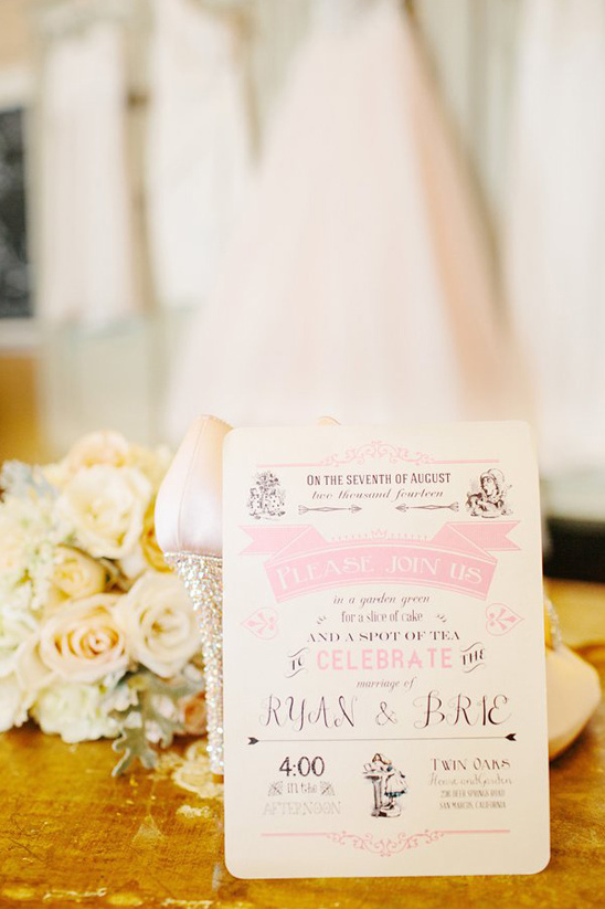 Alice In Wonderland Bridal Shower Invitations And Get Inspired To Create Your Invitation With Smart Design 5