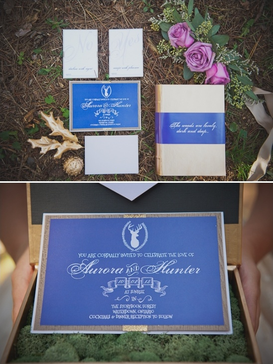 Wedding Invitations With A Storybook Theme