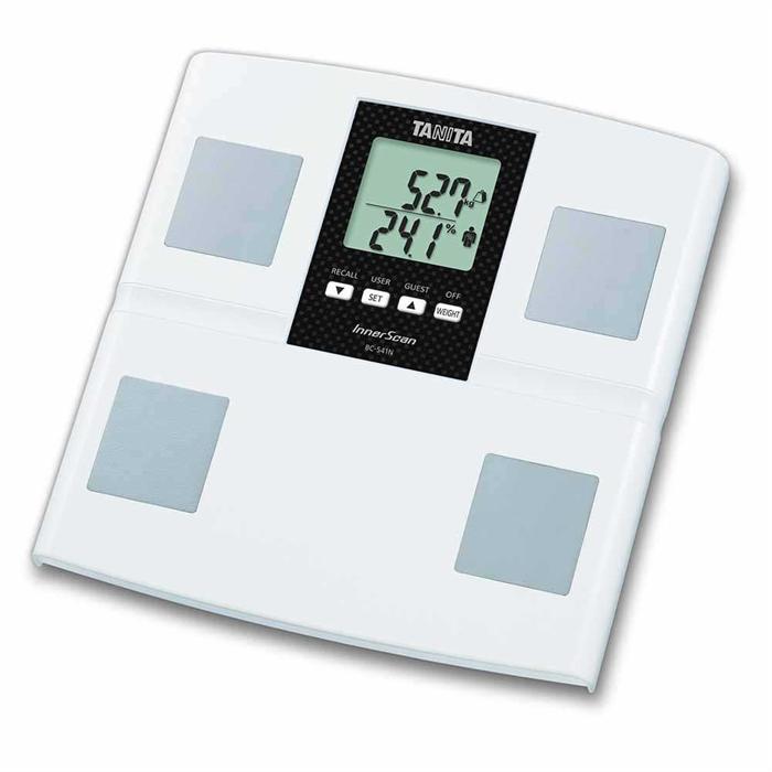 TANITA電子體重脂肪磅BC-541N(白色)--永安網店