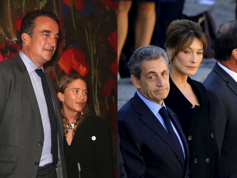 Olivier Sarkozy And Mary Kate Olsen Why Carla Bruni And Nicolas Sarkozy Were Not At Their Wedding World Today News