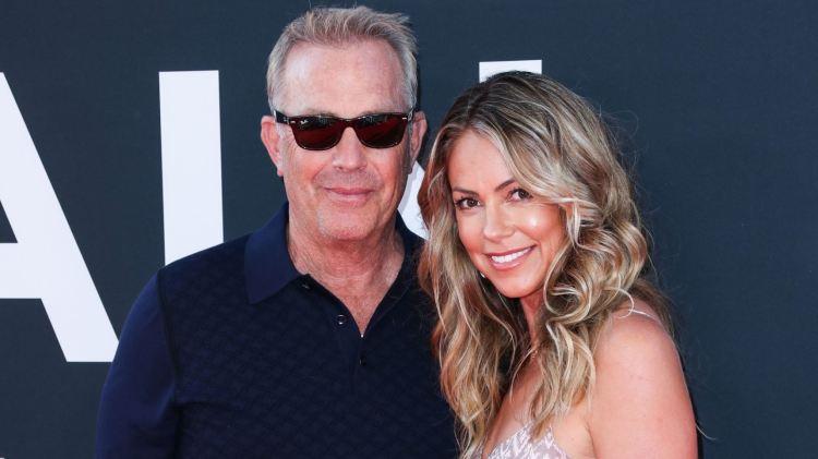 Kevin Costner : that is his wife, Christine Baumgartner ...