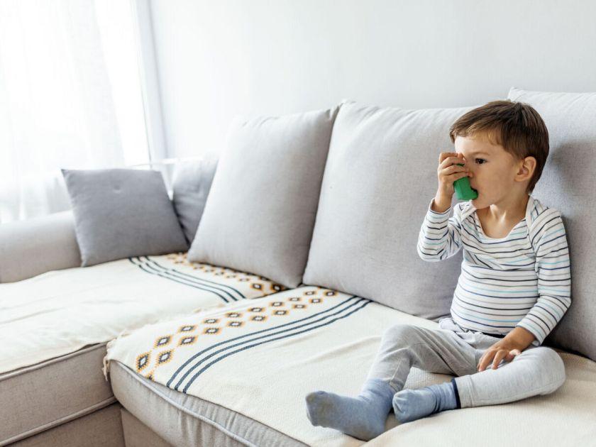 Mon enfant  a de l'asthme