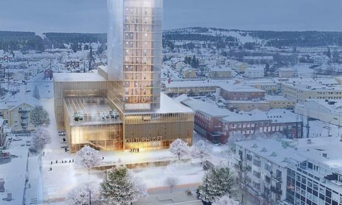 Tòa nhà bằng gỗ cao nhất Bắc Âu