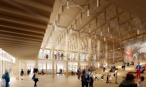 kiến trúc nhà gỗ độc đáo