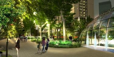 Eco – Green City có hệ sinh thái đậm chất eco