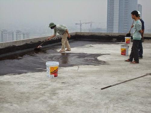 Cách chống thấm cho trần nhà