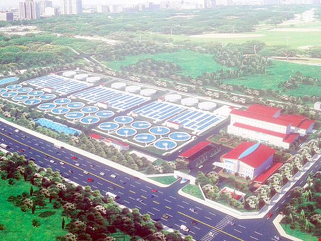 Dự án hệ thống xử lý nước thải Yên Xá