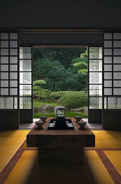 phòng trà nhật bản