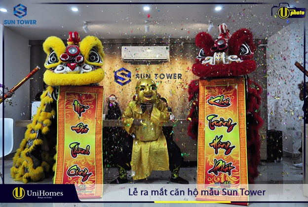 căn hộ mẫu Sun Tower