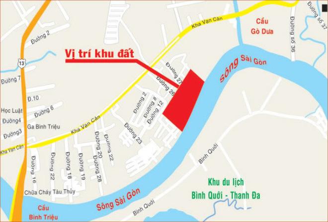 dự án Saigonres Riverside