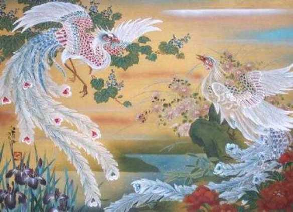 Image result for tranh phụng hoàng
