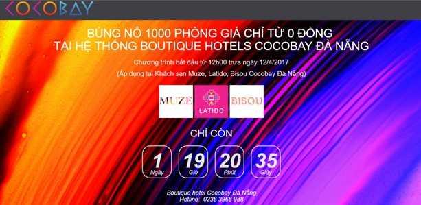Cocobay Đà Nẵng mở bán 1.000 đêm nghỉ giá từ 0 đồng 1