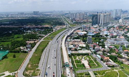 Tp.HCM: Giá căn hộ bất ngờ leo thang theo cú hích hạ tầng