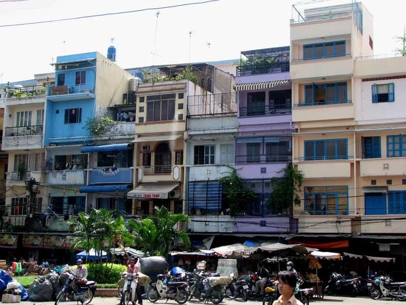 Săn mặt bằng nhà phố trung tâm cho thuê