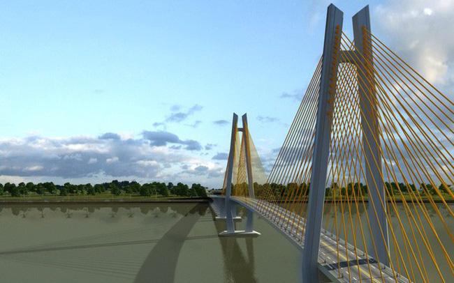 Xây cầu Mỹ Thuận 2 bắc qua sông Tiền dài gần 7km