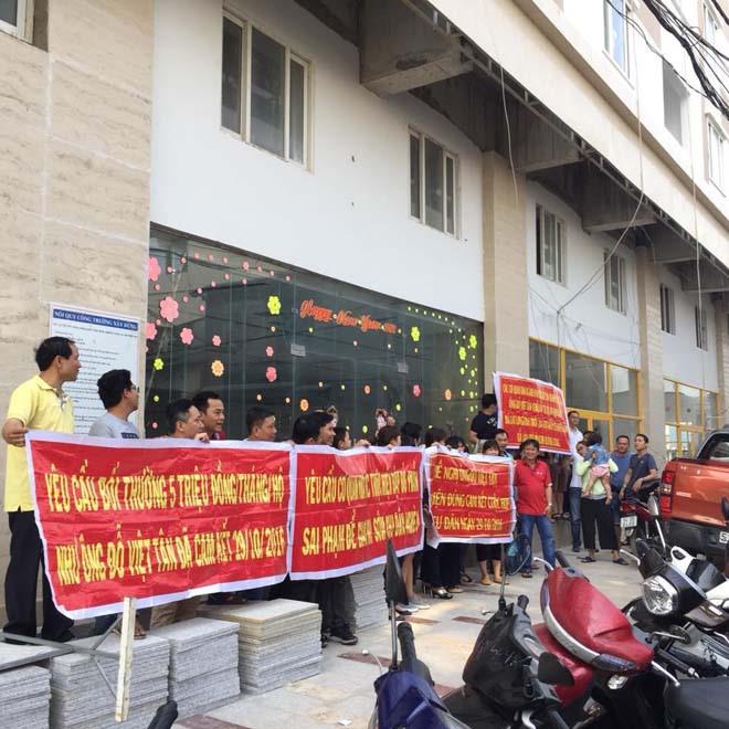 Đầu năm 2018, dồn dập các vụ khiếu nại, biểu tình đòi giao nhà 3