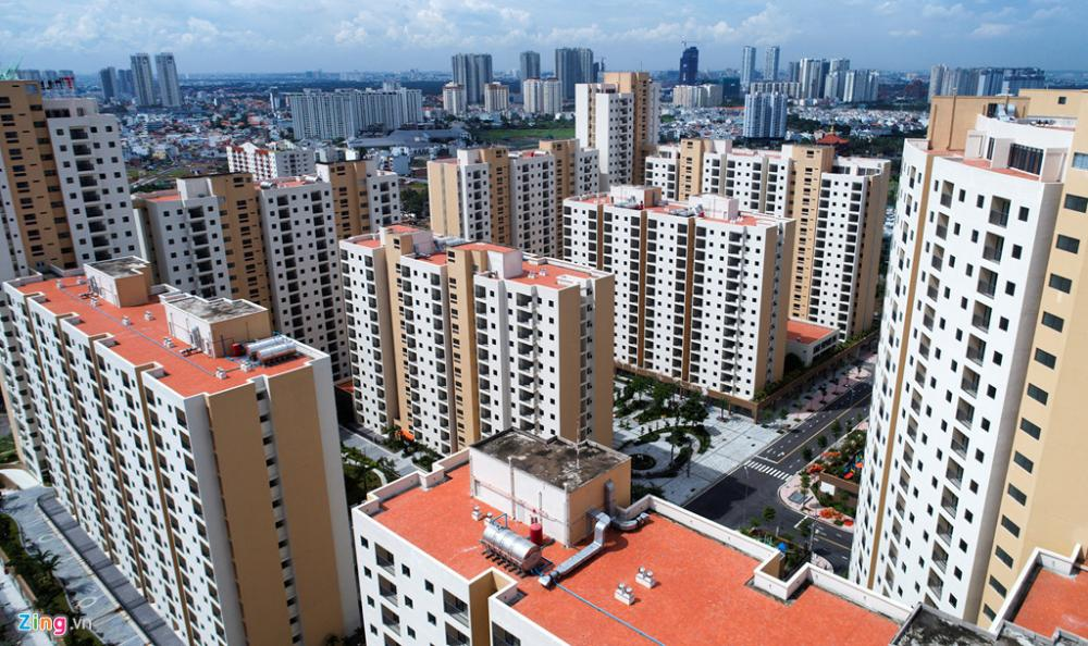 thị trường nhà phố