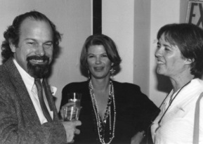 Joe Haldeman, Alice K. Turner ande Gay Haldeman. Photo by and copyright © Andrew Porter.