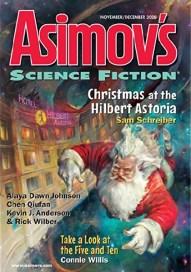 Asimovs Nov-Dec 2020 edited by Sheila Williams, art by Eldar Zakirov