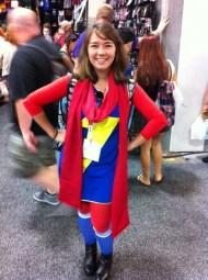 Avelaka as Marvel Girl.