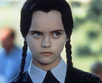 Christina Ricci, Wednesday Addams from The Addams Family