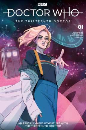 Issue #1 Cover A: Babs Tarr