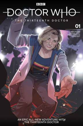Issue #1 Cover D: Rachael Stott