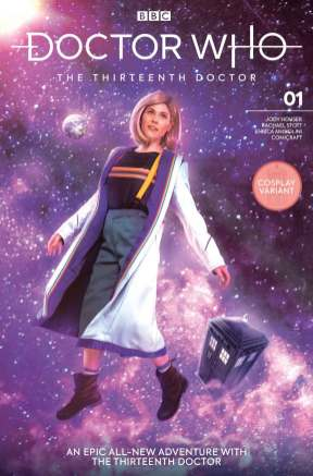 Issue #1 Cover K: Athena Stamos Cosplay Variant