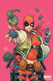 DEADPOOL #32 by Elizabeth Torque