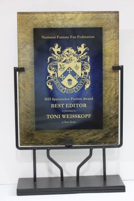 N3F Award for Toni Weisskopf