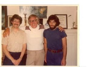 Steve Vertlieb, Ray Bradbury, Erwin Vertlieb.