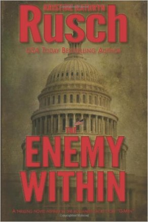 Cover of The Enemy Within by Kristine Kathryn Rusch.