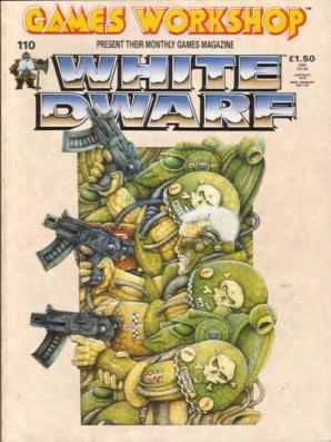 Wayne England cover for White Dwarf
