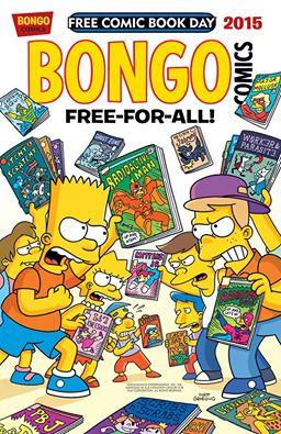 simpsons bongo comics