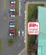 Middle School Drop-Off Area