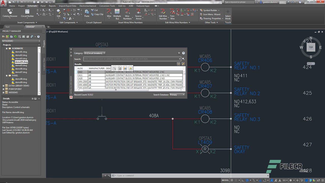 Scr10_Autodesk AutoCAD Electrical_free download