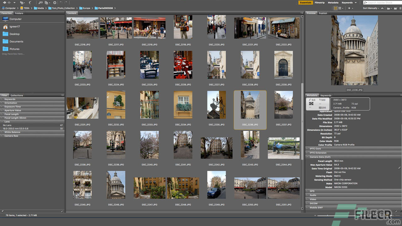 Scr4_Adobe Bridge CC_Free download