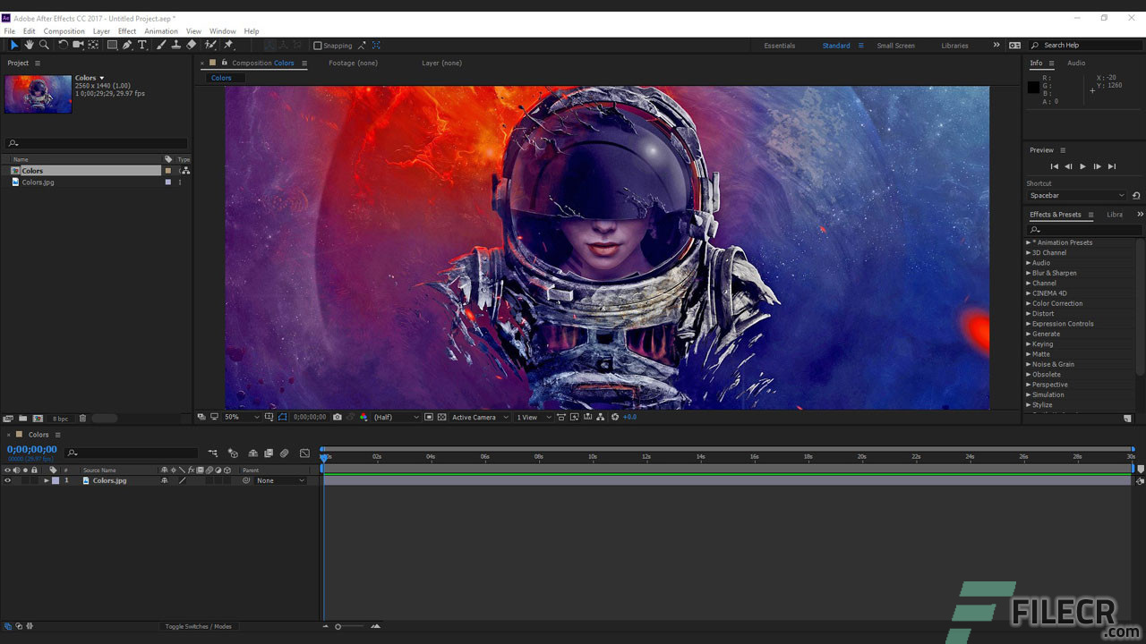 Scr5_Adobe After Effects CC_free download