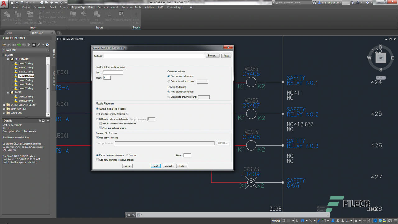 Scr9_Autodesk AutoCAD Electrical_free download