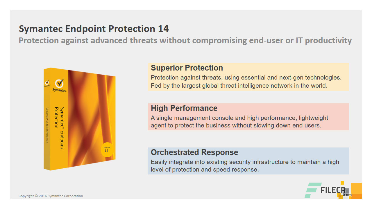 Symantec Endpoint Protection 14.3.1169.0100