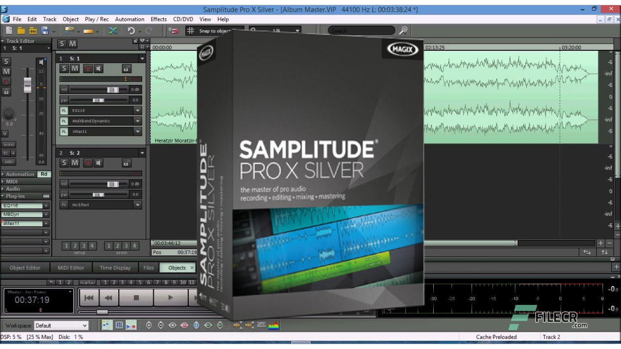 MAGIX Samplitude Pro X4 Suite v15 Free Download