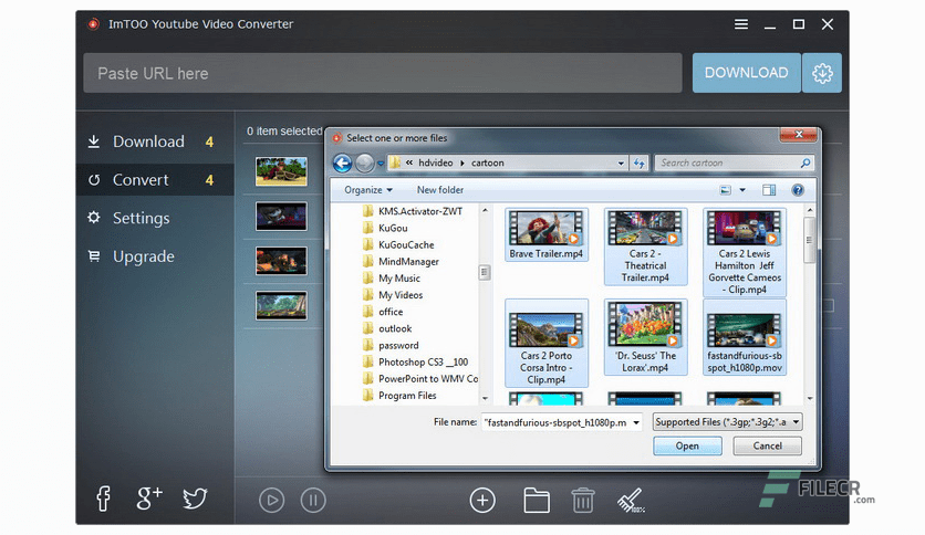 imtoo youtube video converter free download full version