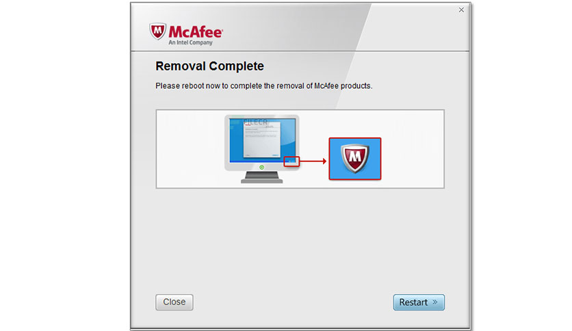 McAfee Consumer Product Removal Tool 10.2.90.0